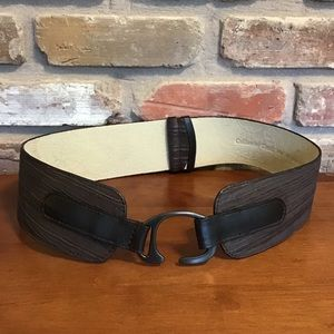 COLDWATER CREEK Wide Leather Belt